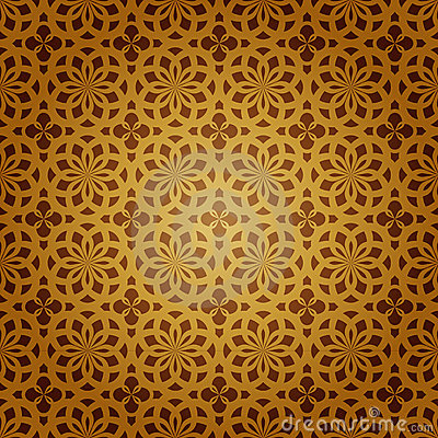 Free Vector Geometric Islamic Art Stock Images - 18016294