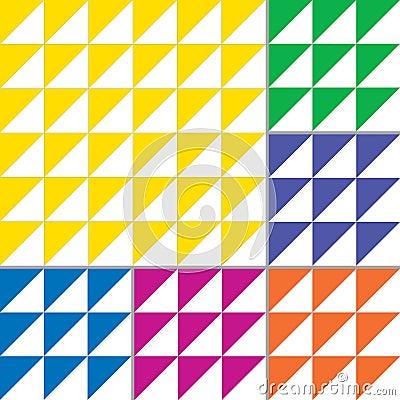 Free Vector Geometric Patterns Set Stock Photos - 118636513