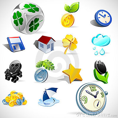 Free Vector Gift Icons. Set 2 Stock Photography - 16607632