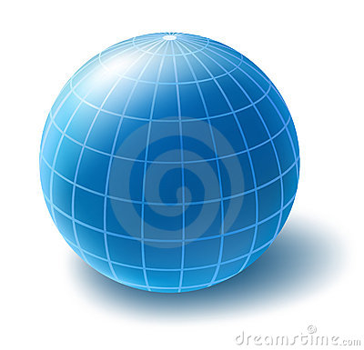 Free Vector Globe Royalty Free Stock Image - 3893016