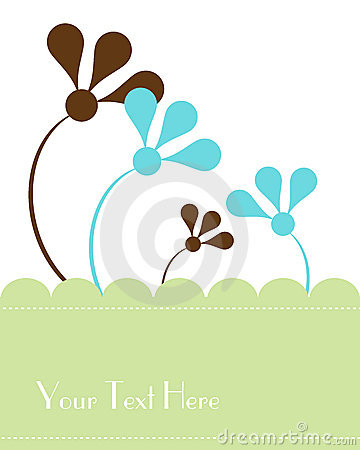 Vector greeting card