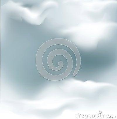 Vector grey sky