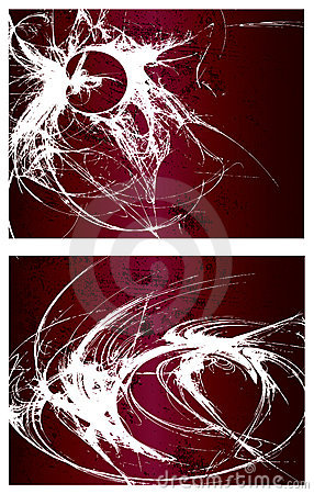 Free Vector Grunge Backgrounds Set 1 Royalty Free Stock Images - 10330599