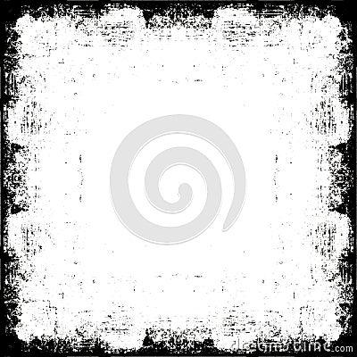 Free Vector Grunge Border Frame Stock Photography - 8281472