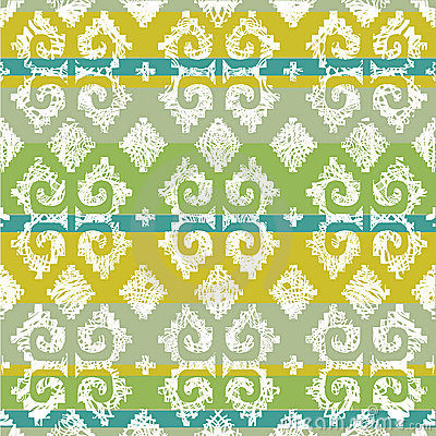 Vector grunge Mexican seamless pattern 4