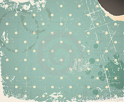 Vector grunge retro vintage background