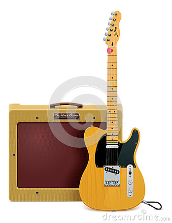 Free Vector Guitar And Amp Icon Royalty Free Stock Photo - 24995185