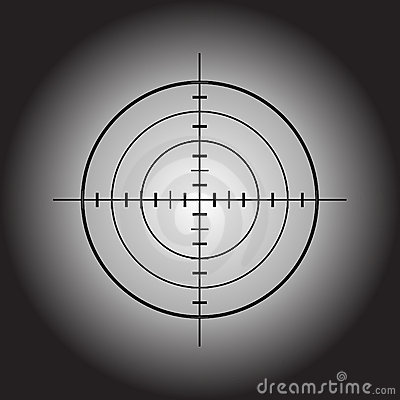Free Vector Gun Target Stock Photos - 12964943