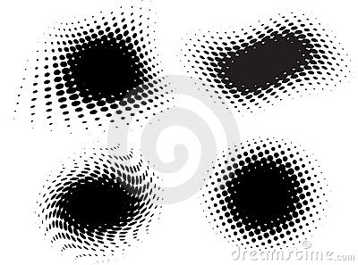 Vector halftone set