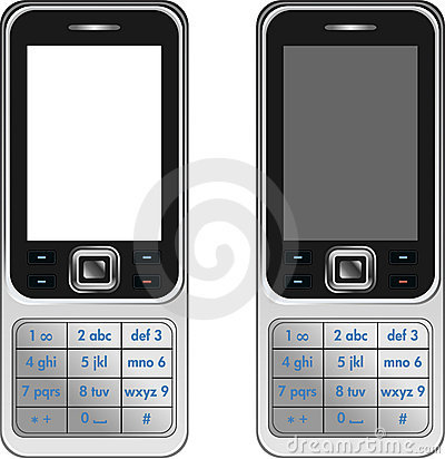 Vector Handphone Cellular Phone