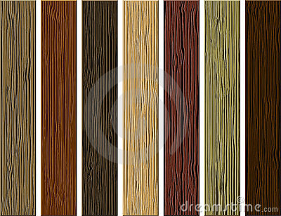 Vector hardwood planks background. Wooden material