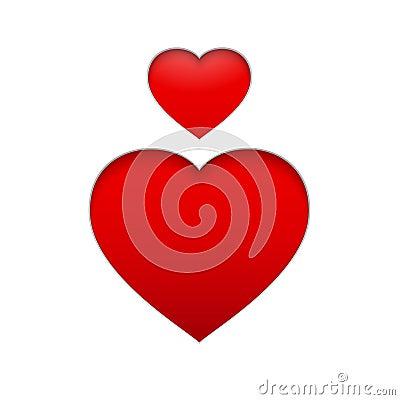 Vector Heart Symbol.