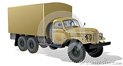 Vector Heavy Truck 6x6