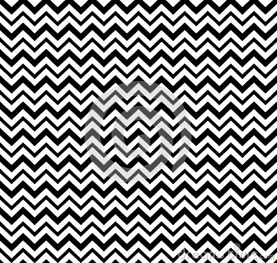 Vector Hipster Abstract Geometry Chevron Patternblack And White Seamless Background Cartoon
