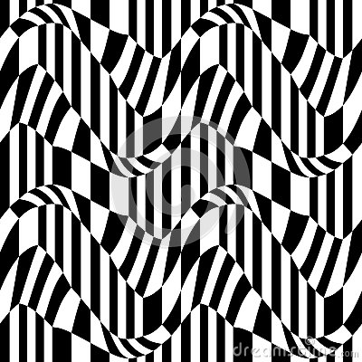 Free Vector Hipster Abstract Geometry Pattern, Black And White Seamless Geometric Background, Subtle Pillow And Bad Sheet Print Stock Photos - 70380183