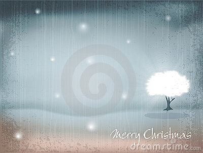 Vector holiday, New Year s, retro background