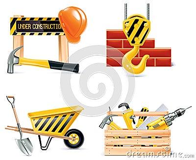 Vector Homebuilding & Renovating icon set. Part 4