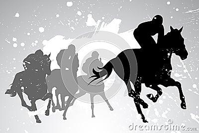 Vector horse races