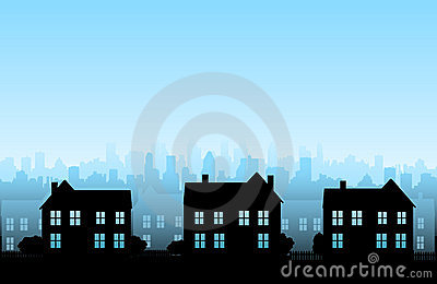 Vector house background