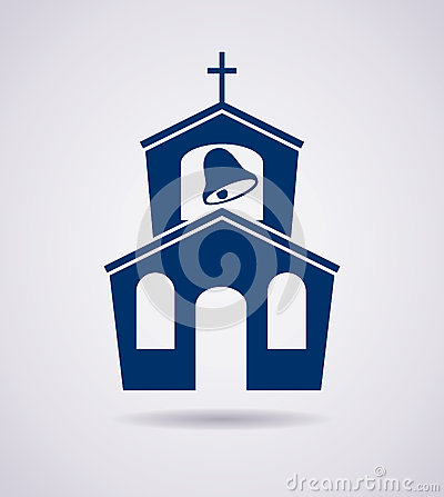 Free Vector Icon Of Church Building Stock Photography - 38715832