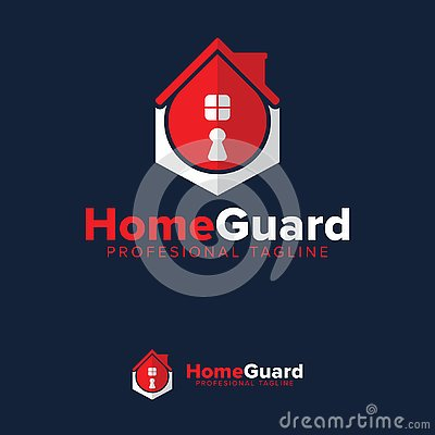 Free Vector, Icon, Symbols Home Guard Key Logo Design Template Stock Photography - 135370272