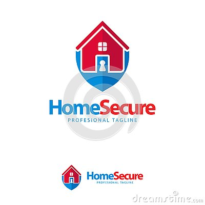Free Vector, Icon, Symbols Home Guard Key Logo Design Template Royalty Free Stock Photo - 135370275