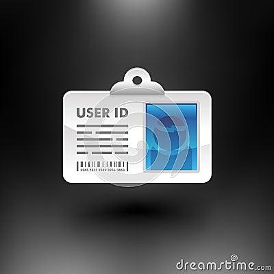 Vector ID Card