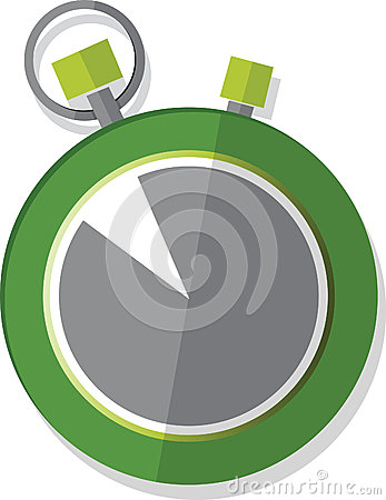 Illustrated Stop Watch