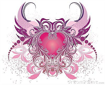 Vector Illustration With Angel Royalty Free Stock Image - Image: 3871886