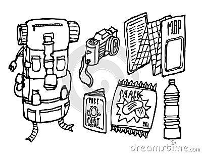 Backpacker survival set