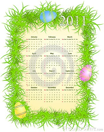 when is easter 2011 calendar. OF EASTER CALENDAR 2011