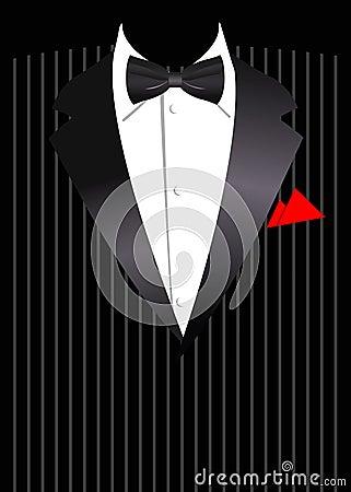Vector illustration of elegant business suit