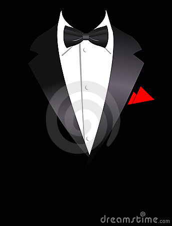 Vector illustration of elegant suit