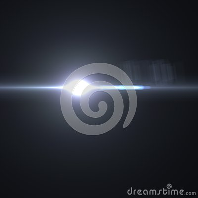 Vector lens flare