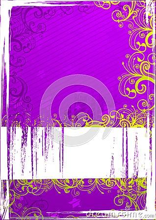 Vector illustration of grunge background