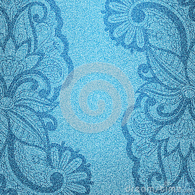 Vector jeans background.