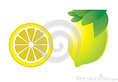 Vector illustration of the lemon