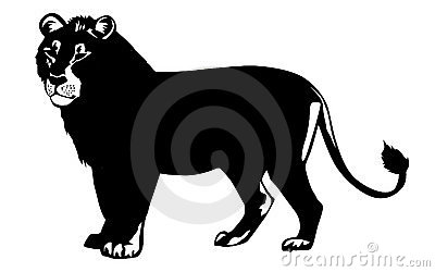 Vector illustration lion