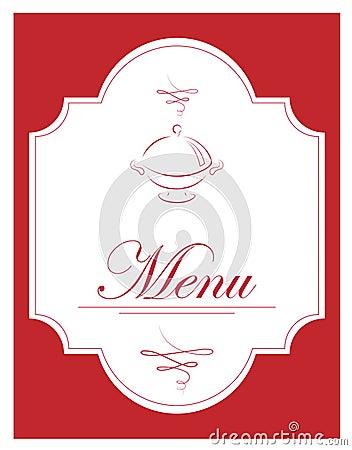 Vector illustration of menu