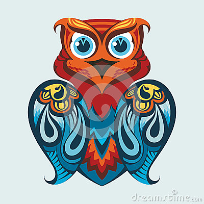 Free Vector Illustration Of An Owl Royalty Free Stock Photo - 24648755