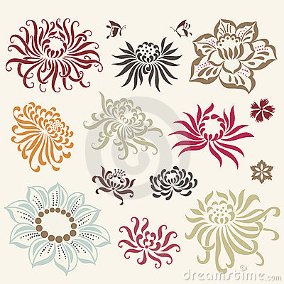 Free Vector Illustration Of Flower Royalty Free Stock Images - 8763509