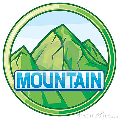 Free Vector Illustration Of Mountain Landscape Stock Photography - 23762032