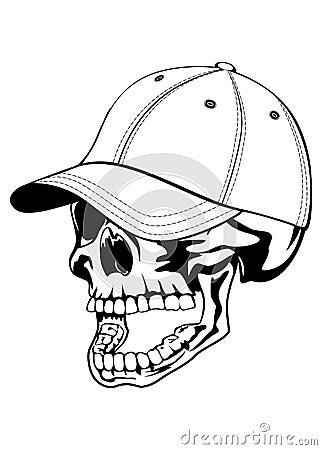 Skull In Cap Royalty Free Stock Photo Image 29914085