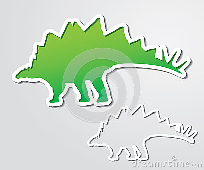 Stegosaurus banner