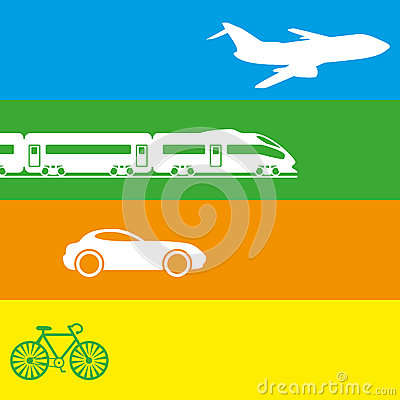 Vector illustration. Transportation.