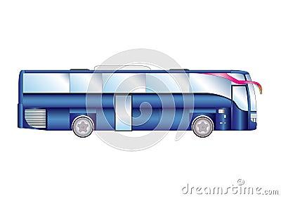 Vector illustration urban bus