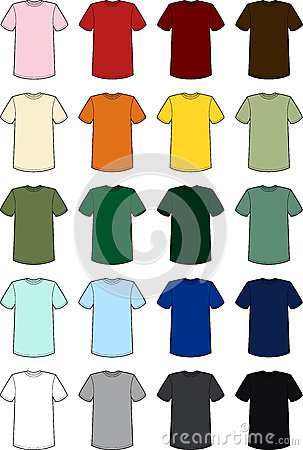 Mens Tee Templates