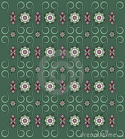 Vector illustrations flower background