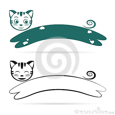 Vector image of an cat