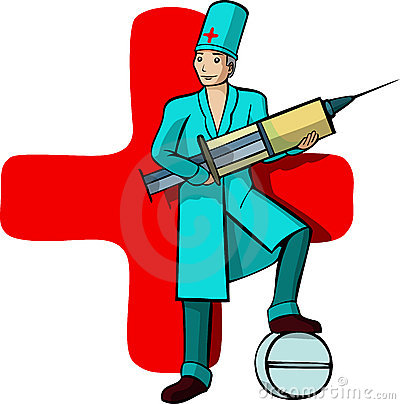 A vector image of a Doctor s profession Editorial Image